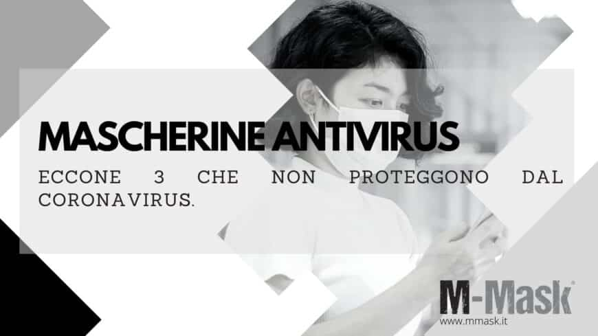 MASCHERINE ANTI VIRUS CORONAVIRUS